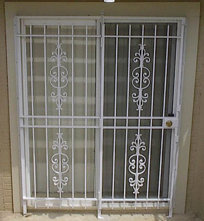 Gate Style Patio Door