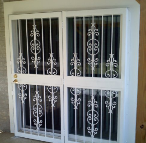& Custom made iron security doors railings guards gates in MD and DC