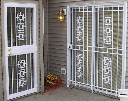 Marvelous Eastern Style Deluxe Patio Door